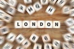 Η πόλη του Λονδίνου Αγγλία Μεγάλη Βρετανία UK χωρίζει σε τετράγωνα την επιχειρησιακή έννοια Στοκ φωτογραφίες με δικαίωμα ελεύθερης χρήσης