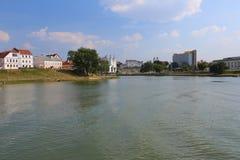 Η πόλη του Μινσκ, Λευκορωσία Στοκ Εικόνες