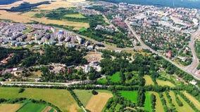 Η πόλη του Πίλζεν απόθεμα βίντεο