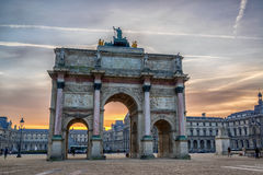 Η πόλη του Παρισιού Γαλλία Στοκ Εικόνες