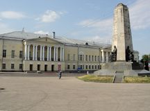 Η πόλη του τετραγώνου καθεδρικών ναών του Βλαντιμίρ Στοκ Εικόνα