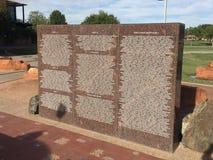 Η πόλη του Gilbert 9/11 μνημείο στο Gilbert AZ Στοκ Εικόνα