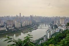 Η πόλη Chongqing, Κίνα Στοκ Εικόνα
