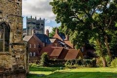 Η πόλη Durham, Αγγλία - UK Στοκ εικόνα με δικαίωμα ελεύθερης χρήσης