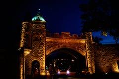 Η πύλη κάστρων Στοκ εικόνες με δικαίωμα ελεύθερης χρήσης