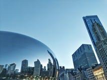 Η πύλη Σικάγο σύννεφων στοκ φωτογραφίες με δικαίωμα ελεύθερης χρήσης