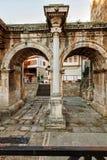 Η πύλη Hadriyan ` s στην πόλη Antalya Στοκ φωτογραφίες με δικαίωμα ελεύθερης χρήσης