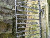 Η πύλη 2 μετάλλων Στοκ Φωτογραφία