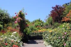 Η πύλη στον κήπο Στοκ φωτογραφία με δικαίωμα ελεύθερης χρήσης