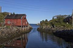 Η πύλη στον ωκεανό Στοκ Εικόνες