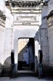 Η πύλη στο χωριό της Hong στοκ φωτογραφία με δικαίωμα ελεύθερης χρήσης