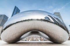 Η πύλη σύννεφων (a.k.a το φασόλι Σικάγο) στοκ εικόνες