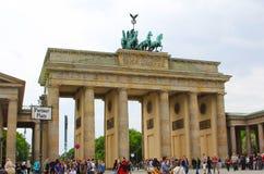 Η πύλη του Βραδεμβούργου στοκ φωτογραφία με δικαίωμα ελεύθερης χρήσης