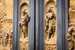 Η πύλη του παραδείσου - βαπτιστήριο, Φλωρεντία Στοκ εικόνα με δικαίωμα ελεύθερης χρήσης