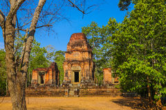 Η πύλη Angkor wat του angkor thom bayon bakong bapoun siem συγκεντρώνει το βασίλειο της Καμπότζης της κατάπληξης Στοκ φωτογραφία με δικαίωμα ελεύθερης χρήσης