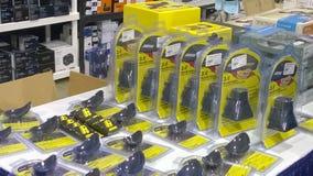 Η πώληση εξοπλισμού καμερών παρουσιάζει Στοκ Εικόνες
