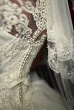 Η πλάτη της νύφης Στοκ Φωτογραφίες