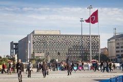 Η πλατεία και ο πολιτισμός Taksim κεντρικοί Στοκ Εικόνες