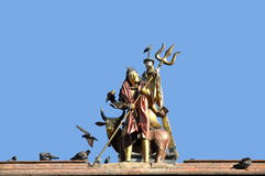 Άγαλμα Shiva στην πλατεία του Κατμαντού Durbar Στοκ εικόνες με δικαίωμα ελεύθερης χρήσης