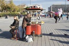 Η πλατεία Taksim Στοκ φωτογραφία με δικαίωμα ελεύθερης χρήσης
