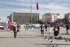 Η πλατεία Taksim Στοκ Εικόνα