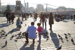 Η πλατεία Taksim Στοκ εικόνες με δικαίωμα ελεύθερης χρήσης