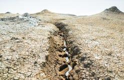 Η ροή να προέλθει λάσπης στοκ φωτογραφία