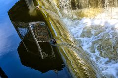 Η ροή του νερού Στοκ Εικόνα