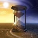 Η ροή του χρόνου Στοκ Εικόνες