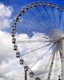 Η ρόδα του Παρισιού Ferris Στοκ εικόνα με δικαίωμα ελεύθερης χρήσης