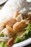 η σάλτσα γαρίδων μελιού πι& στοκ φωτογραφία με δικαίωμα ελεύθερης χρήσης