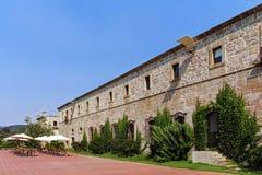 Η Σάντα Μαρία κάνει το μοναστήρι Bouro και το ιστορικό πανδοχείο Pousadas de Πορτογαλία Amares, Πορτογαλία στοκ εικόνες με δικαίωμα ελεύθερης χρήσης