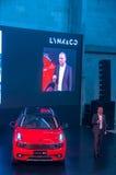 Η Σαγκάη αυτόματη παρουσιάζει σε 2017 LYNK & κοβάλτιο 01 αυτοκίνητο Στοκ Εικόνες