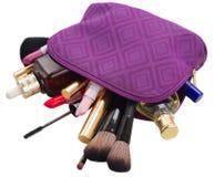 Η σακούλα με αποτελεί τα προϊόντα στοκ φωτογραφία με δικαίωμα ελεύθερης χρήσης