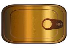 Η σαρδέλλα μπορεί, διανυσματική απεικόνιση Στοκ εικόνα με δικαίωμα ελεύθερης χρήσης