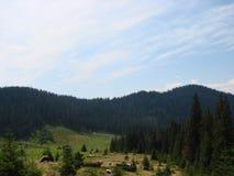 Η σειρά βουνών του Marmaros ουκρανικά Carpathians κοντά στην πόλη Rakhiv της Transcarpathian περιοχής Ουκρανία 08 Στοκ Εικόνα