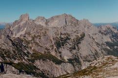 Η σειρά βουνών Gosaukamt Στοκ φωτογραφία με δικαίωμα ελεύθερης χρήσης