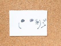 Η σειρά ιαπωνικών emoticons κάλεσε Kaomoji, που στενοχωρήθηκε Στοκ Εικόνα
