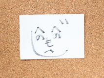 Η σειρά ιαπωνικών emoticons κάλεσε Kaomoji, τύπος Στοκ φωτογραφία με δικαίωμα ελεύθερης χρήσης