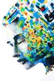 Η σειρά χρωμάτων το των σκέψεων γυναικών ` s απεικόνιση αποθεμάτων