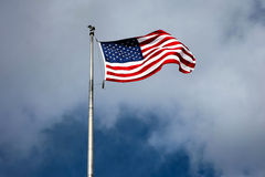 Η σημαία Αμερικανού Στοκ εικόνα με δικαίωμα ελεύθερης χρήσης