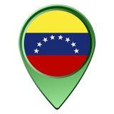 η σημαία απομόνωσε Βενεζουελανό Στοκ εικόνα με δικαίωμα ελεύθερης χρήσης
