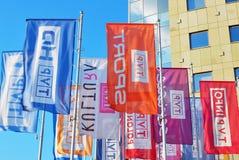 Η σημαία στον ιστό Στοκ φωτογραφία με δικαίωμα ελεύθερης χρήσης