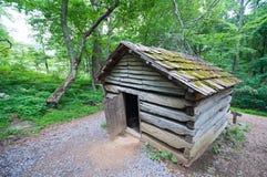 19η σιταποθήκη κούτσουρων αιώνα σε Appalachians 2 Στοκ Φωτογραφίες