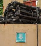 Η σκάλα διαφυγών Στοκ εικόνα με δικαίωμα ελεύθερης χρήσης