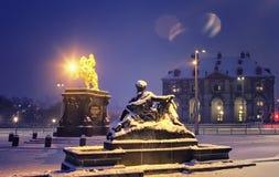 Το άγαλμα του βασιλιά ΙΙ Αυγούστου Στοκ εικόνα με δικαίωμα ελεύθερης χρήσης