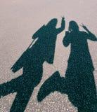 Η σκιά θέλει μια φωτογραφία! Στοκ εικόνα με δικαίωμα ελεύθερης χρήσης