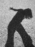 η σκιά μου Στοκ εικόνα με δικαίωμα ελεύθερης χρήσης