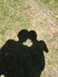 Η σκιά πήρε την εικόνα μας Στοκ Εικόνες