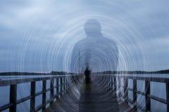 η σκιά Στοκ Φωτογραφίες